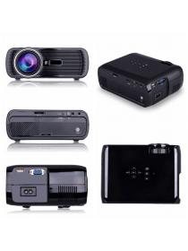 Deeplee Portable Multimedia 1000 Lumens Mini LED Projector with VGA USB SD AV HDMI for Home Cinema Theater Video Games M