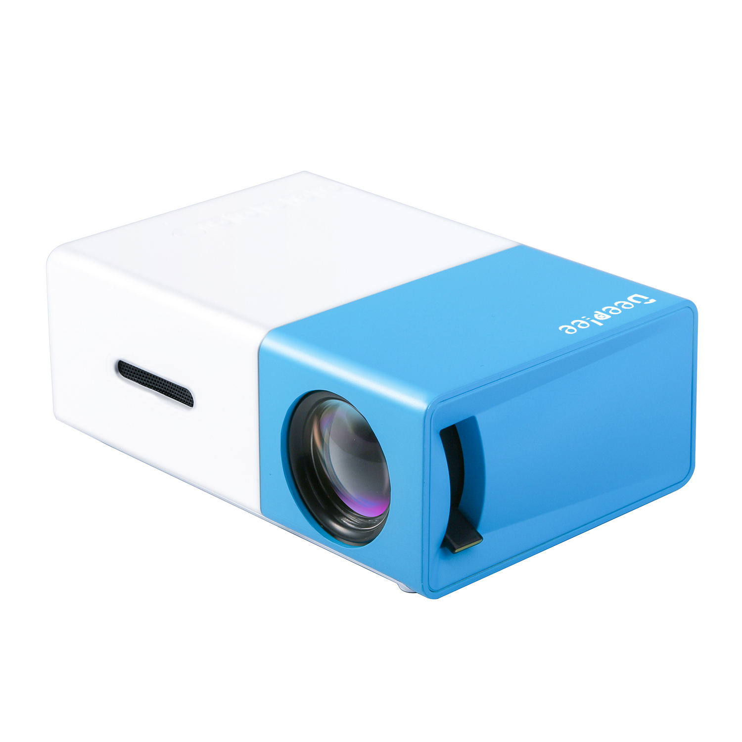 Deeplee dp300 mini projector portable led projector home for Small projector for laptop