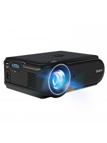 Home Projector, Deeplee DP90 Upgraded 2000 Lumen Mini LED Projector with HDMI / VGA / USB / SD for Home Cinema Movie, Video Game, Party and Soccer Match, Support DVD PC Laptop TV Smartphone PS3 PS4 Xbox Wii
