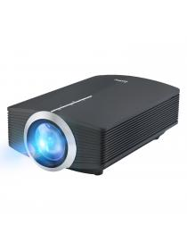 Home Projector, Deeplee DP500 Mini Projector 1500 Lumen Portable LED Video Projector support MHL HDMI USB VGA TF HD Multimedia Mini Projector with Stereo Built-in Speaker